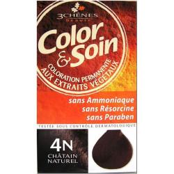 Color & Soin Coloration Châtain Naturel 4N
