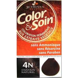 Color & Soin Coloration Châtain Naturel 4N