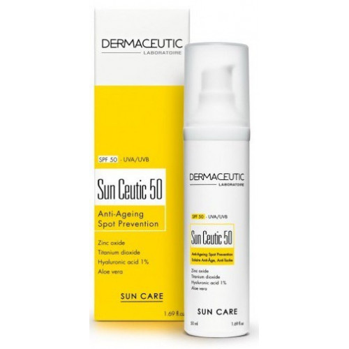 Dermaceutic Sun Ceutic SPF 50, flacon airless, 50ml