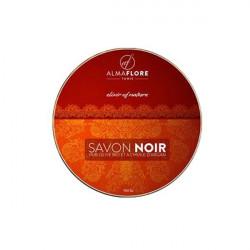 ALMAFLORE SAVON NOIR Olive BIO et Huile d'argan, 150gr