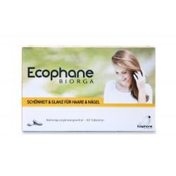 BIORGA Ecophane Cheveux Et Des Ongles, 60 Comprimé