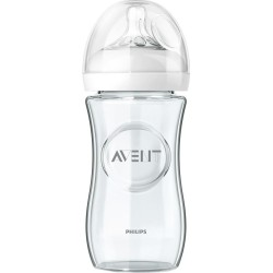 AVENT Biberon en verre Natural, 240 ml