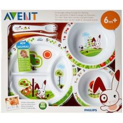 AVENT Coffret repas pour enfant 6 mois et +