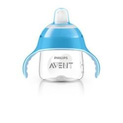 AVENT tasse a bec bleu 6M+, 200 ml