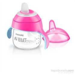 AVENT Tasse à bec rose 6M+, 200 ml