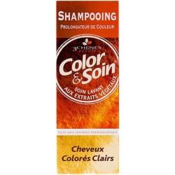 Color & Soin Shampoing Cheveux Colorés Clairs, 250 ml