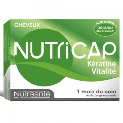 NUTRICAP KERATINE VITALITE CHEVEUX, 30 CAPSULES