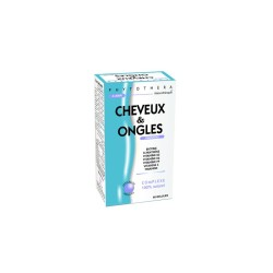 PHYTOTHERA CHEVEUX ET ONGLES, 60 gélules