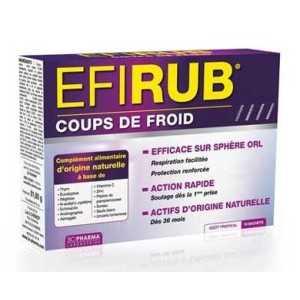 EFIRUB Coups de Froid, 16 sachets