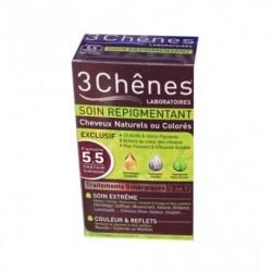 3 CHENES Coloration 5 Châtain Clair Acajou