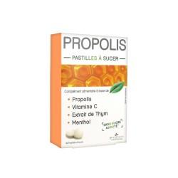 3 Chênes Propolis Pastilles à Sucer Adoucissantes & Calmantes, 40 Pastilles