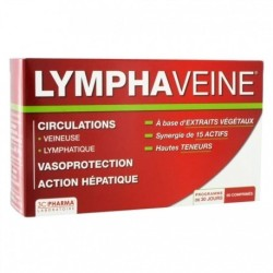 3 CHENES Pharma Lymphaveine, 60 Comprimés