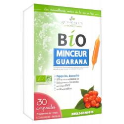 3 Chênes BIO Minceur Guarana, 30 Ampoules