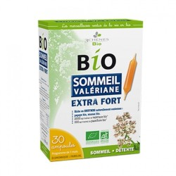 3 Chênes Bio Sommeil Valériane extra fort, 30 ampoules