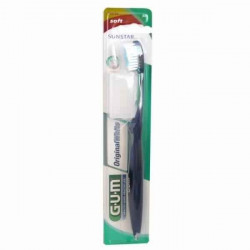 GUM Brosse à dents Original White souple compacte (561)
