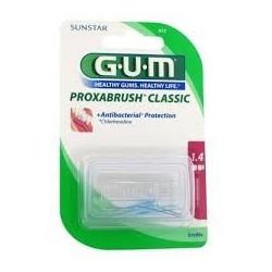 GUM brossettes fine cylindrique, boite de 8 (612)