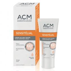 SENSITÉLIAL Crème solaire SPF50+ Teinte claire, 40ml