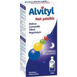 Alvityl Nuit Paisible Sirop Dès 3 ans 150 ml