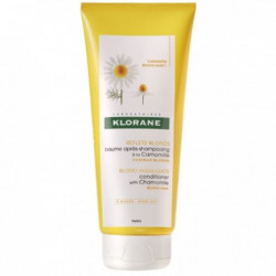 KLORANE REFLETS BLONDS BAUME APRES-SHAMPOOING CAMOMILLE CHEVEUX BLONDS 200ML
