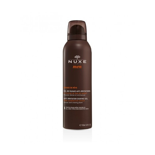 NUXE Men Rasage de Rêve Gel anti irritations, 150ml