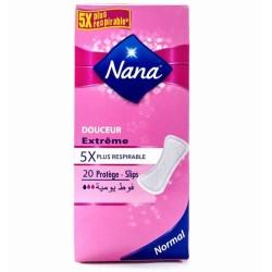 NANA Protège-Slips Normal Douceur Extrême 20 unités