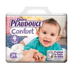 Peaudouce Confort 7-14 Kg Taille 4 , 24 unités