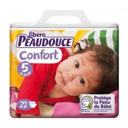 Peaudouce Confort 12-18 Kg Taille 5 , 22 unités