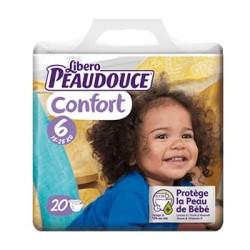 Peaudouce Confort 15-25 Kg Taille 6 , 20 unités