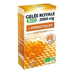 Gelée Royale Bio 2000mg Riche en Fibres, 21 comprimés