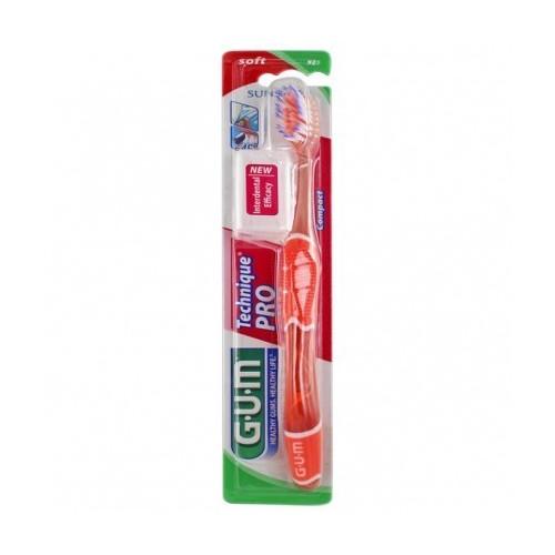 GUM Brosse à dents Technique Pro souple (525)