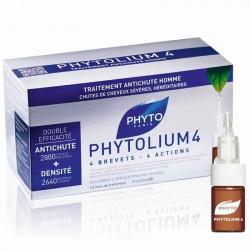PHYTO Phytolium 4 Traitement Antichute homme, 12x3.5ml