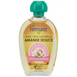Floressance Huile Végétale - Amande Douce, 50 ml