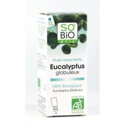 SO BIO Huile essentielle eucalyptus Bio, 10 mL