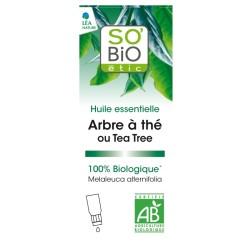 SO'BiO Huile essentielle Arbre à thé - Anti-bactérien