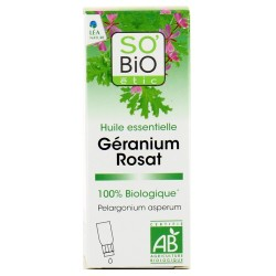SO'BIO Huile essentielle Géranium - Beauté et bien-être -