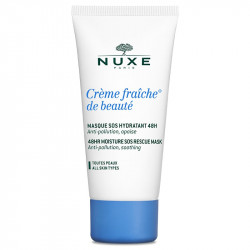 Nuxe Masque hydratant Crème fraîche de beauté Masque sos hydratant 48h, 50 ml