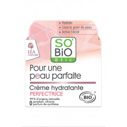 SO'BiO Crème Hydratante Perfectrice, 50ml