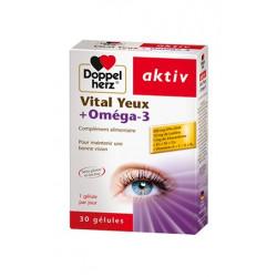 Vital yeux+Oméga-3, 30 Gélules