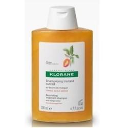 KLORANE Shampooing traitant Nutritif à la Mangue, 200 ml