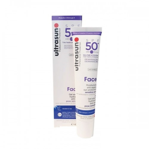 ULTRASUN FACE Anti-Ageing SPF 50+, 40ml