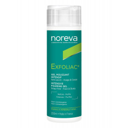 NOREVA Exfoliac Gel moussant Intensif, 200 ml