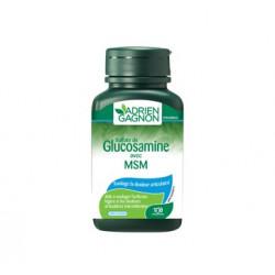 Glucosamine avec MSM, 100 comprimes