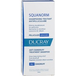 Ducray SQUANORM SHAMPOOING PELLICULES GRASSES, 200ml