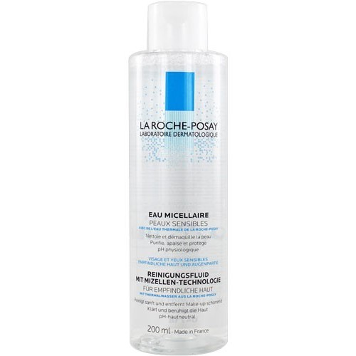 La roche posay SOLUTION MICELLAIRE PHYSIOLOGIQUE DÉMAQUILLANTE, 200ml