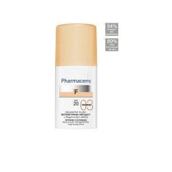 PHARMACERIS FLUIDE HYDRATANT ANTIOXYDANT SPF20 (TANNÉ 03), 30ml
