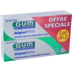 GUM Dentifrice Original White, 75ml
