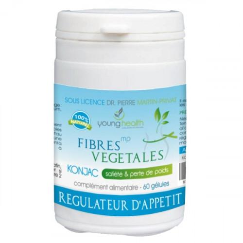 MARTIN PRIVAT FIBRES VEGETALES, 60 gélules