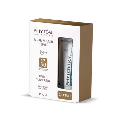 PHYTEAL ECRAN TEINTE BEIGE DOREE SPF 50, 50 ml