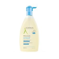 A-DERMA Primalba gel lavant douceur bébé, 500 ml