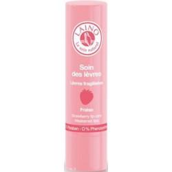LAINO Soin des lèvres fragilisées goût fraise, 4g